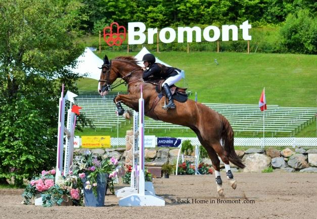 Bromont sign