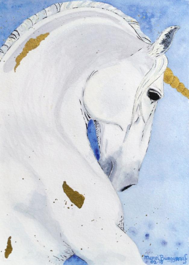 Unicorn by Merel Burggraff http://merelburggraaf.com/