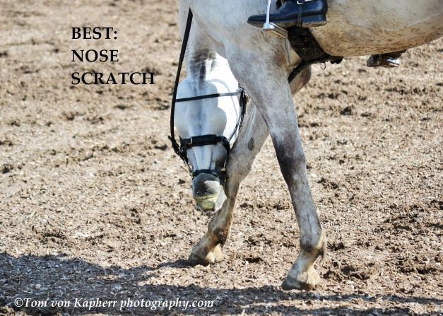 nose scratch