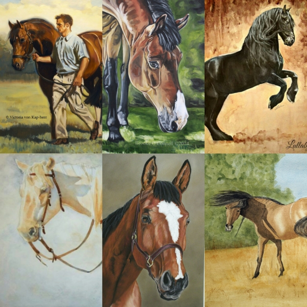 Equestrian art - Back Home In Bromont.com