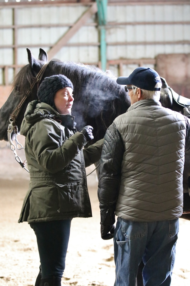 """Carole: """"This is called a horse."""""""