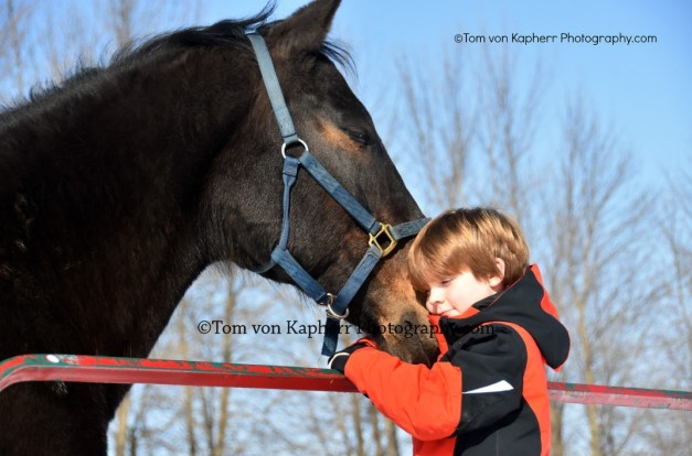 A Horse and His Boy - Tom von Kapherr photography